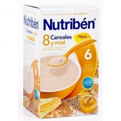 NUTRIBEN 8 CER MIEL FIBR 600 G