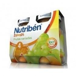 NUTRIBEN ZUMO FRUTAS VARIADAS 2X130 G