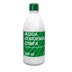 CINFA AGUA OXIGENADA 10 VOL 500 ML