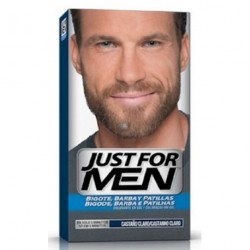 JUST FOR MEN BARBA CASTAÑO CLARO