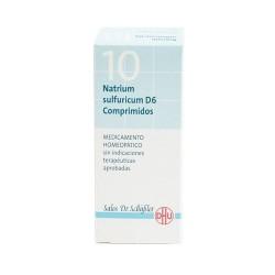 NATRIUM SULFURICUM D6 COMPRIMIDOS 80