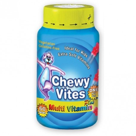 CHEWY VITES PLUS MULTIVITAMINA 60 U BOTE
