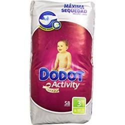 DODOT PLUS ACTIVITY T/3 4-10 KG 36 UD
