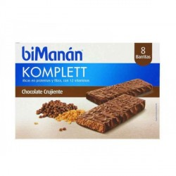 BIMANAN BARRITAS CHOCOLATE CRUJIENTE 8U