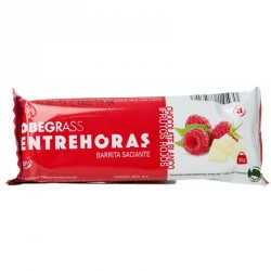 OBEGRASS ENTREHORAS BARRITA CHOCOLATE BLANCO Y F