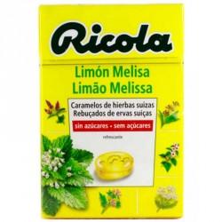 RICOLA CARAMELO LIMON MELISA SIN AZUCAR 50 G