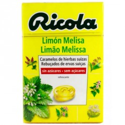 RICOLA CARAMELO S/AZ LIMON MELISA