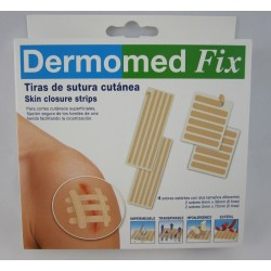 DERMOMED FIX TIRAS DE SUTURA 4SOBRES MIX