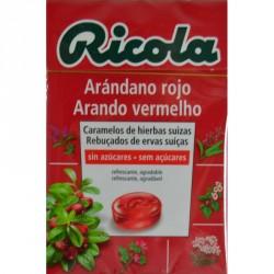 RICOLA CARAMELO S/AZ ARANDANO ROJO