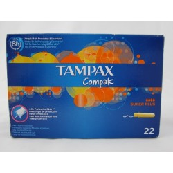 TAMPAX COMPAK TAMPON SUPER PLUS 24 U