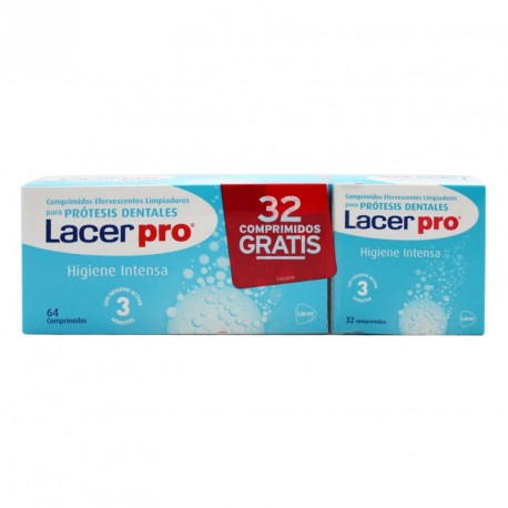 LACER PROTABS COMP LIMPIEZA PROTESIS DENTAL 64 C