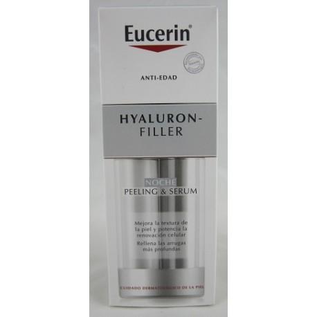 EUCERIN HYALURON FILLER PEELING & SERUM NOCHE 30