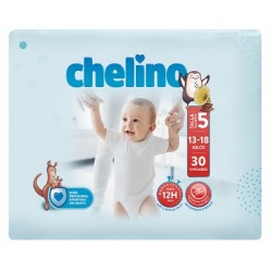 PAÑAL INFANTIL CHELINO FASHION & LOVE T- 5 (13 -