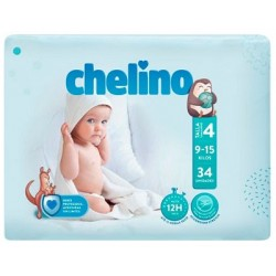 PAÑAL INFANTIL CHELINO FASHION & LOVE T- 4 (9 -