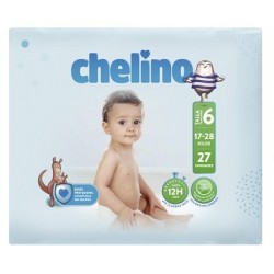 PAÑAL INFANTIL CHELINO FASHION & LOVE T- 6 (17 -