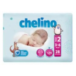 PAÑAL INFANTIL CHELINO FASHION & LOVE T- 2 (3 -