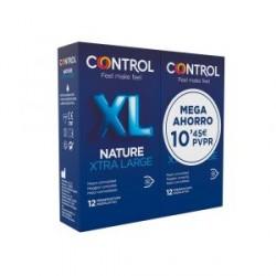 CONTROL NATURE XL PRESERVATIVO PACK AHORRO 12+12